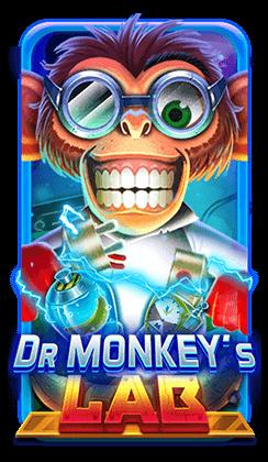 รีวิว เกมสล็อต Dr Monkey's LAB