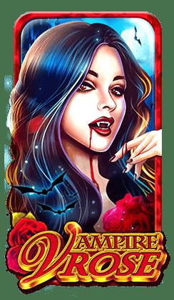 รีวิว เกมสล็อต Vampire Rose