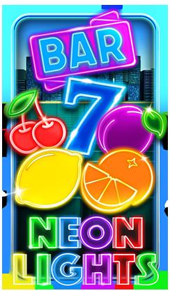 รีวิว เกมสล็อต Bar 7 Neon Lights